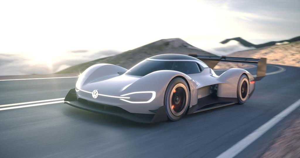 Гоночный Volkswagen ID R Pikes Peak