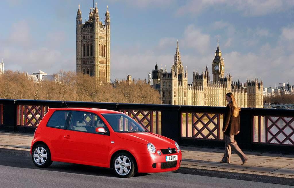 Быстрый хэтчбек Volkswagen Lupo GTI