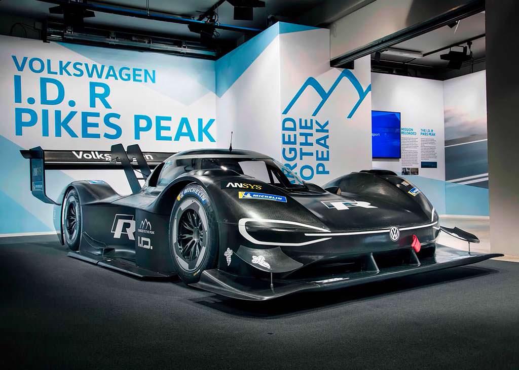 VW I.D. R Pikes Peak Racer. Разгон до 100 км/ч за 2,25-сек