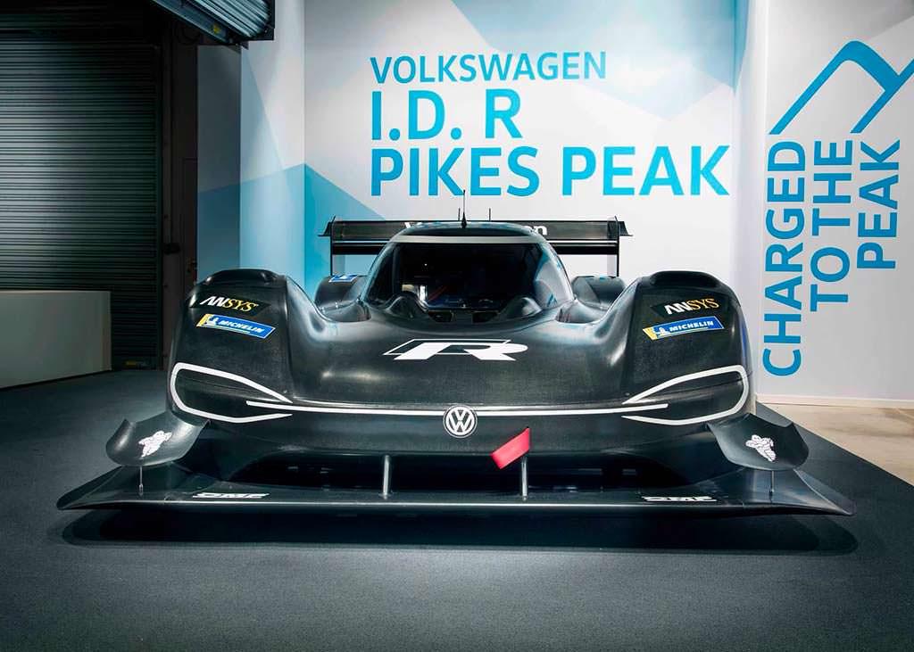 Volkswagen I.D. R Pikes Peak Racer. Мощность 680 л.с.