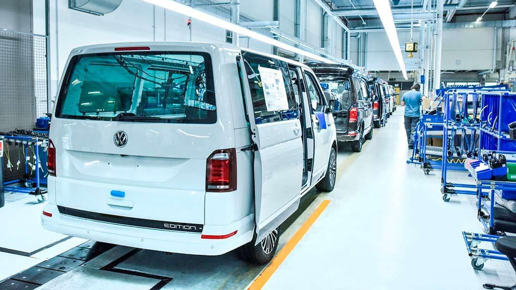 Юбилейный туристический фургон Volkswagen California Ocean
