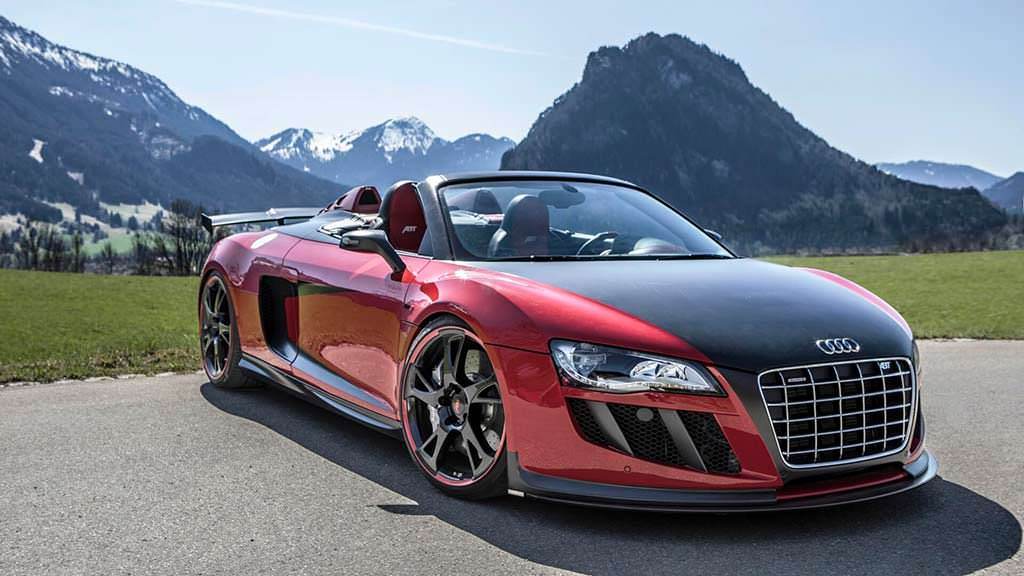 Audi R8 Spyder V10 GT S 2011 года. Тюнинг от ABT Sportsline