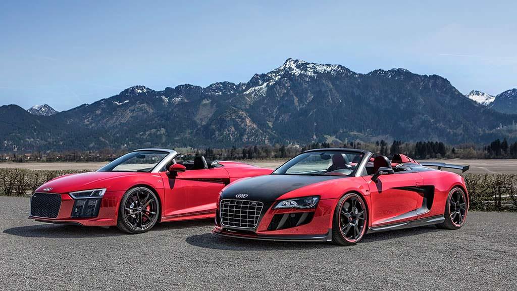 Audi R8 Spyder V10 RWS и Audi R8 Spyder V10 GT S