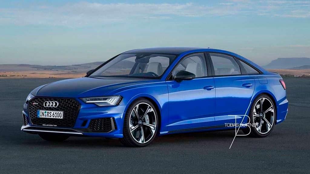 Седан Audi RS6 C8, неофициальный дизайн