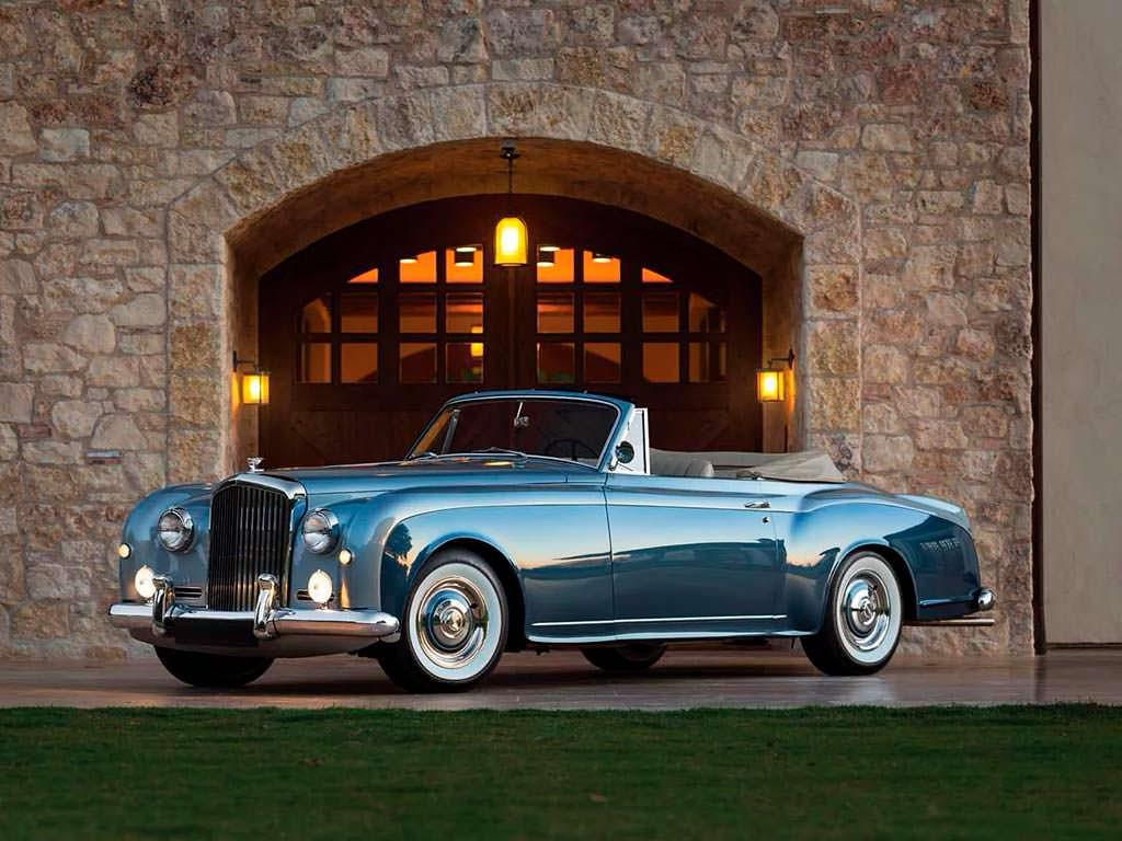 Bentley S1 Continental Drophead Coupe 1956 года выпуска
