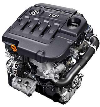 Дизельный двигатель Volkswagen TDI