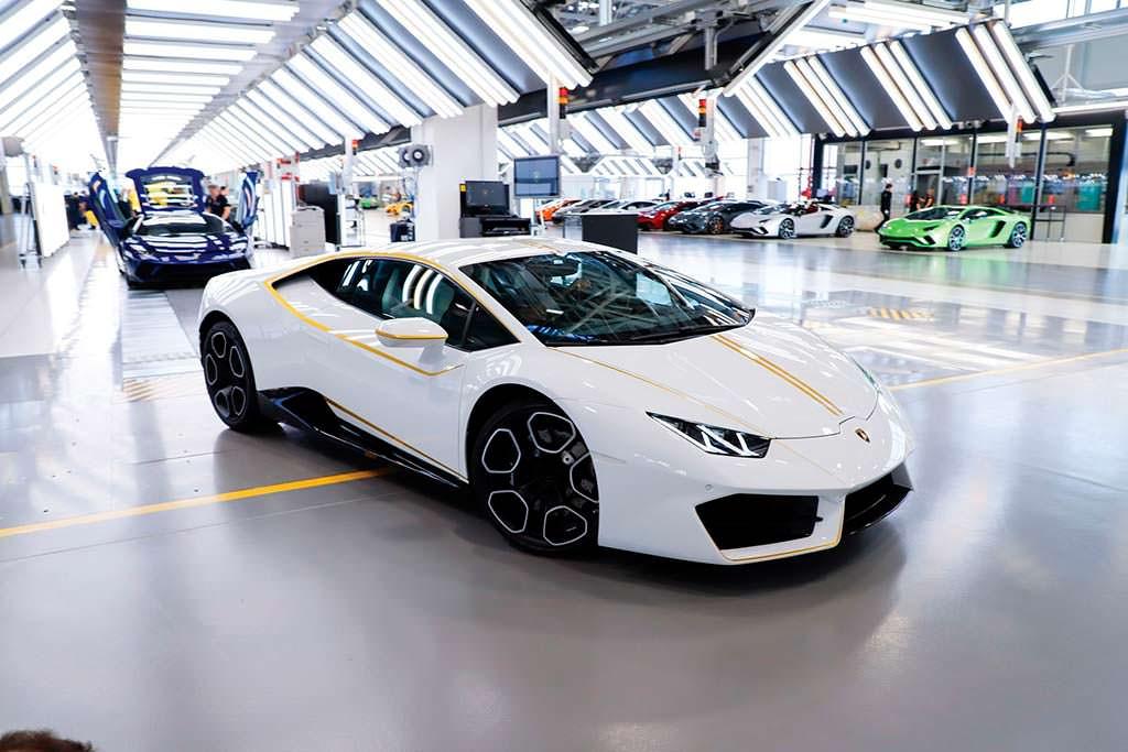 Lamborghini Huracan LP580-2 Папы Франциска