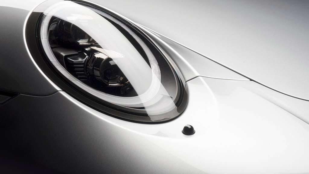 Тонированные фары Porsche 911 S Cabrio от Porsche Exclusive