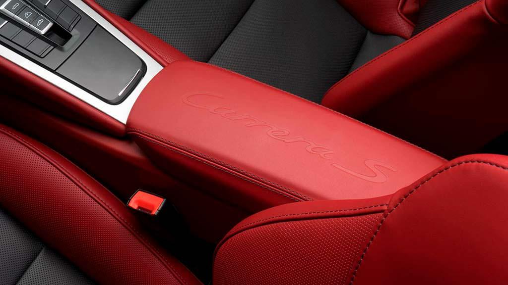 Кожаный салон Porsche 911 S Cabrio от Porsche Exclusive