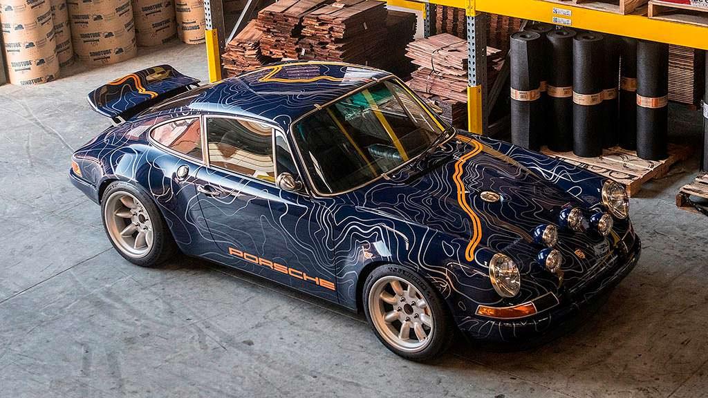 Классический Porsche 911 964. Реставрация от Singer