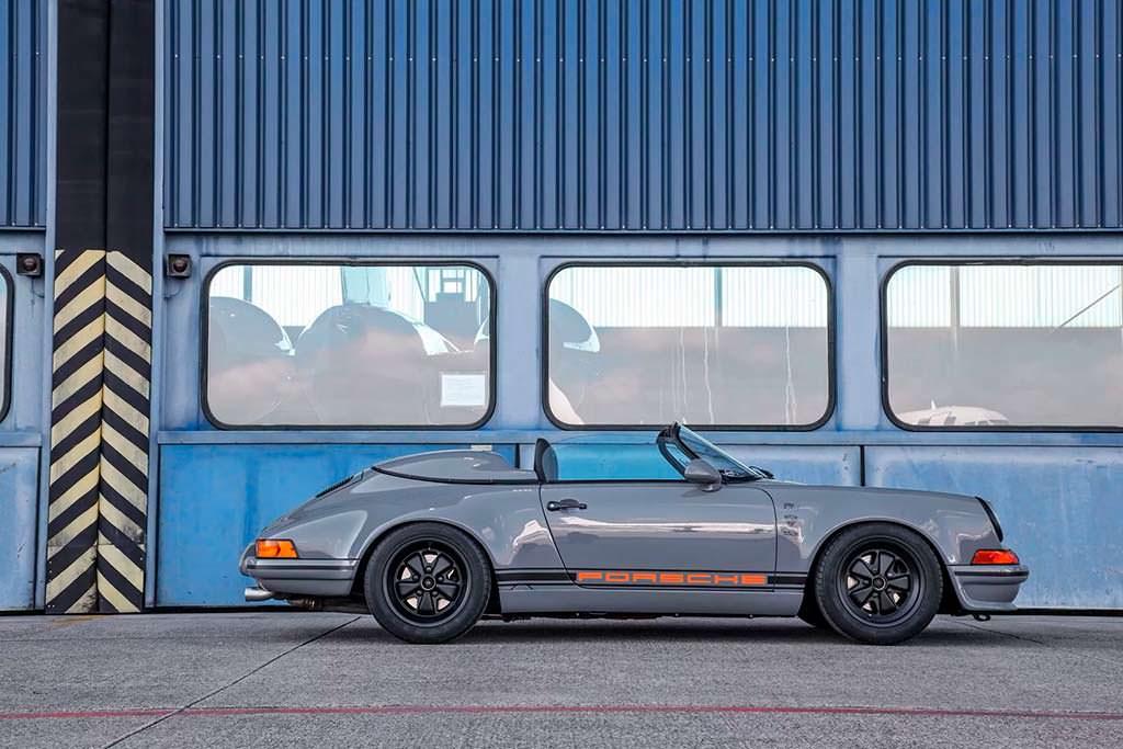 Ретро Porsche 911 Speedster из Targa 1989 от DP Motorsport