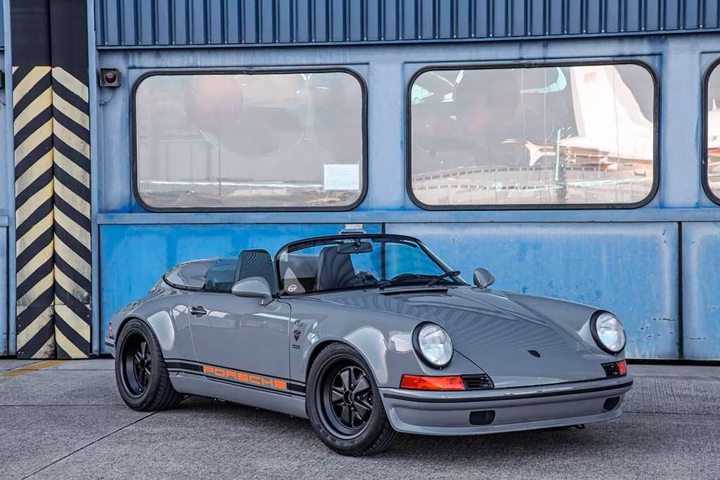 Классическая Porsche 911 Speedster из Targa 1989 года