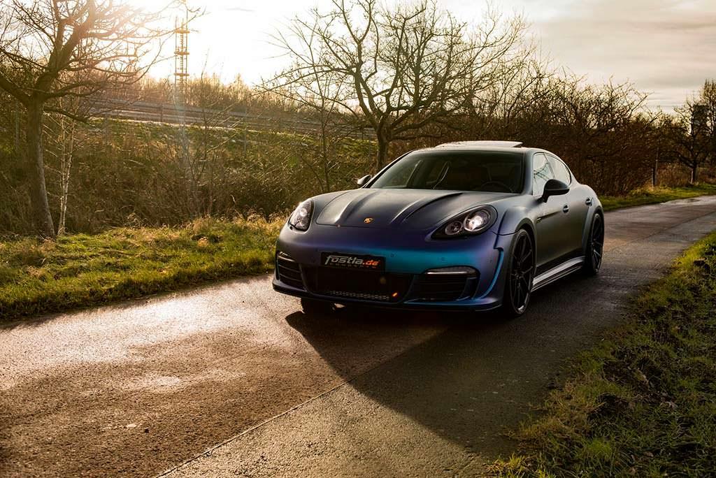 Тюнинг Porsche Panamera первого поколения от Fostla
