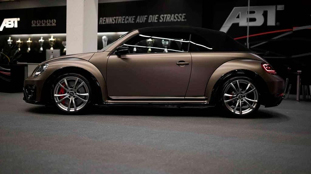 Кабриолет Volkswagen Beetle Convertible. Тюнинг от ABT