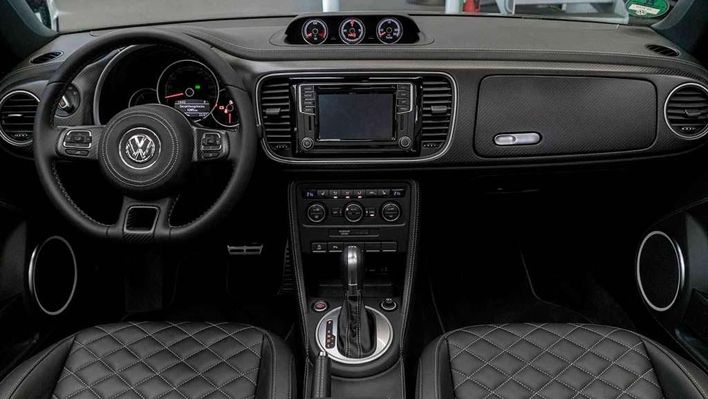 Кожаный салон Volkswagen Beetle Convertible от ABT