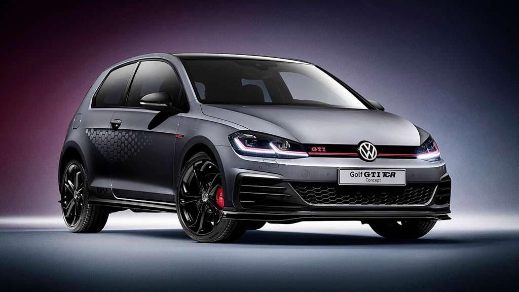 Volkswagen Golf GTI TCR Concept. Скорость 264 км/ч