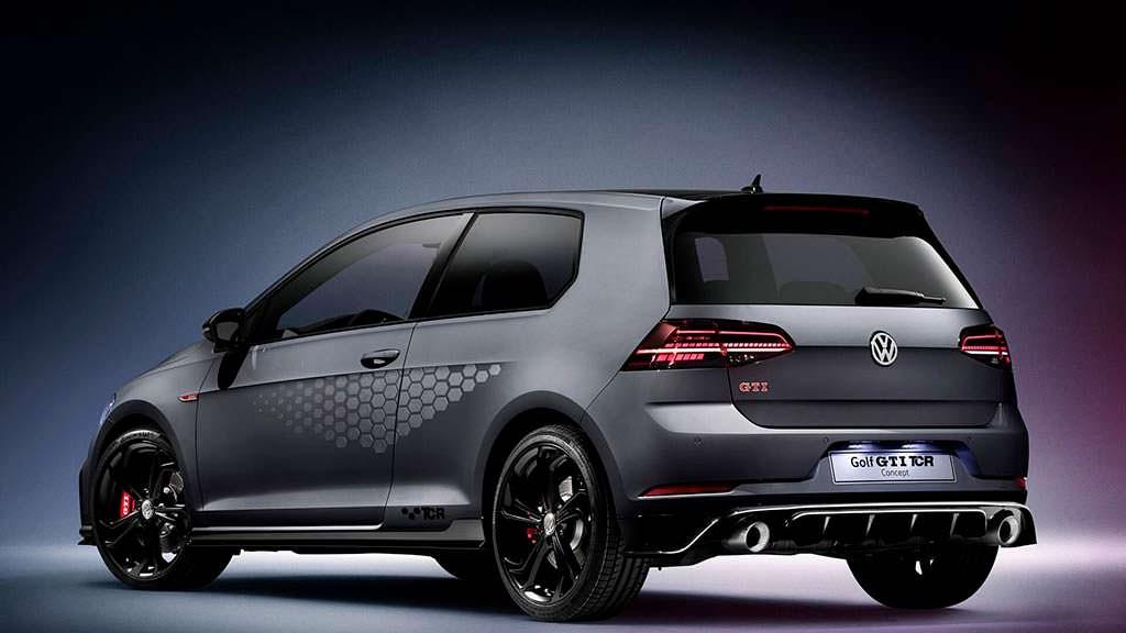 2019 Volkswagen Golf GTI TCR Concept