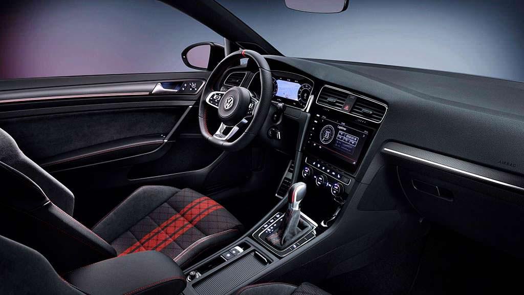 Фото салона Volkswagen Golf GTI TCR Concept