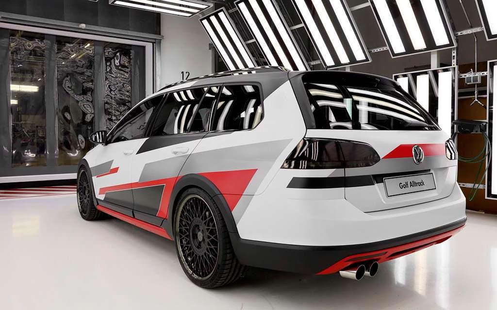 Концепт Универсал Volkswagen Golf Variant TGI GMOTION
