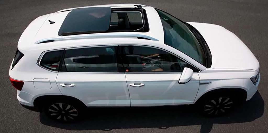 Компактный кроссовер Volkswagen Tharu. Дизайн от VW Atlas
