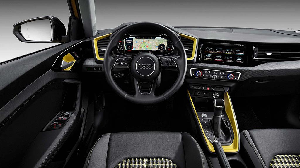 Фото внутри Audi A1 Sportback 2019