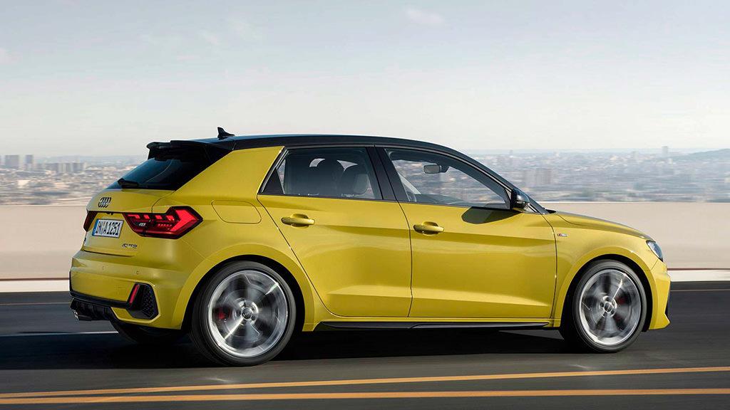 Audi A1 Sportback второго поколения официально фото
