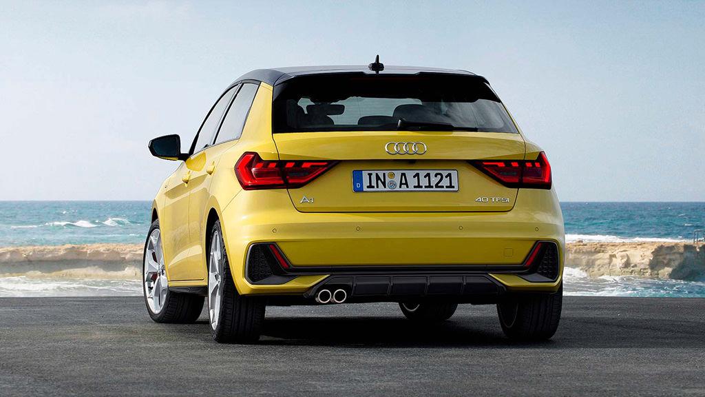 Самая маленькая Audi A1 Sportback