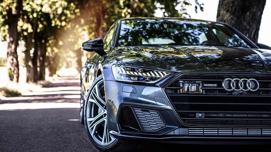 2018 Audi A7 Sportback цвета Daytona Grey от Auditography