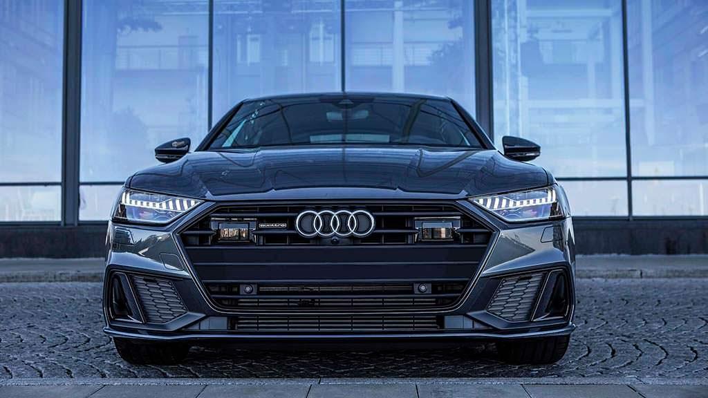 Новая Audi A7 Sportback цвета Daytona Grey от Auditography