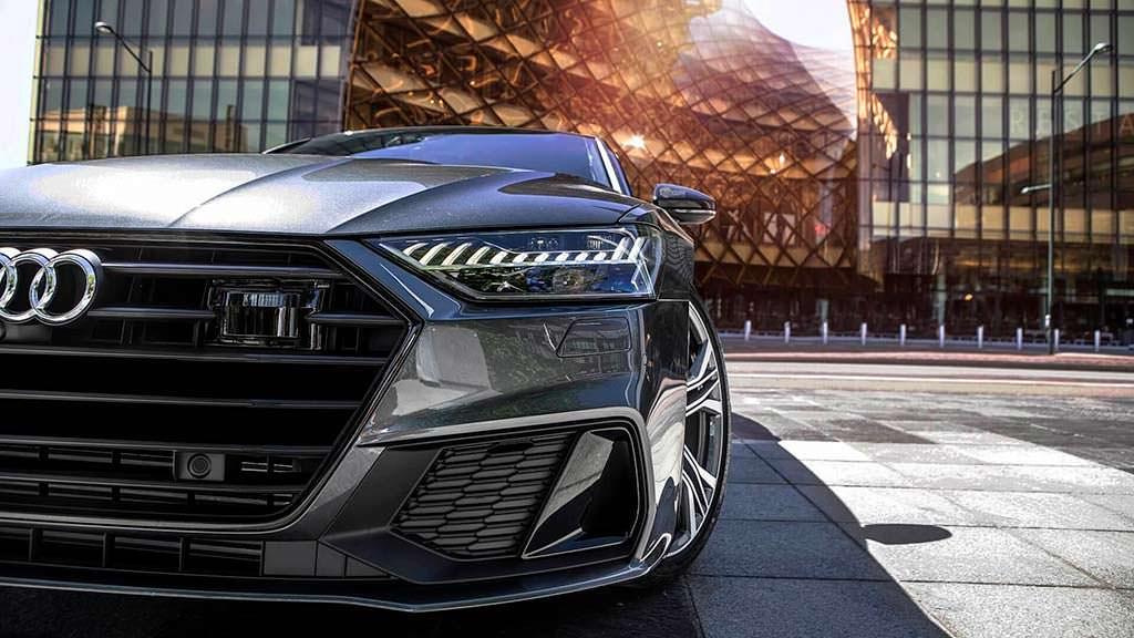 Светодиодные фары Audi A7 Sportback. Фото Auditography