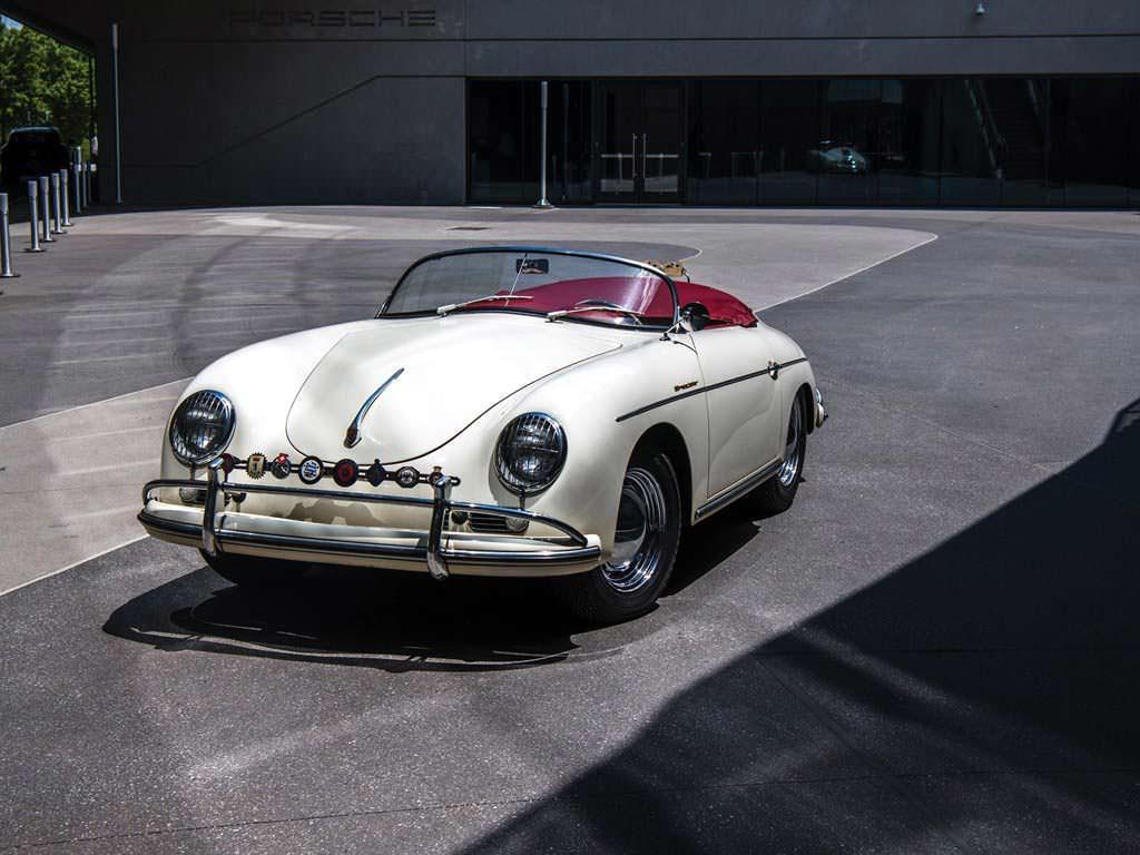 Коллекционный Porsche 356 A 1600 Speedster 1956 года