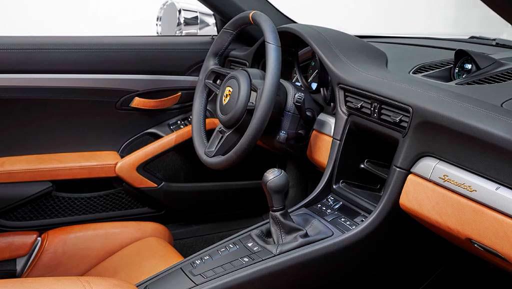 Фото салона Porsche 911 Speedster Concept