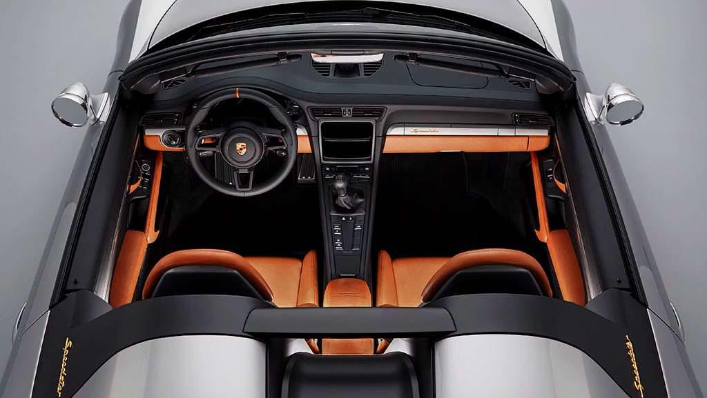 Салон Porsche 911 Speedster Concept