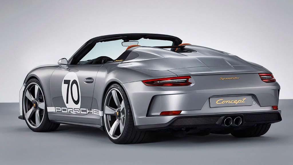 Юбилейный Porsche 911 Speedster Concept