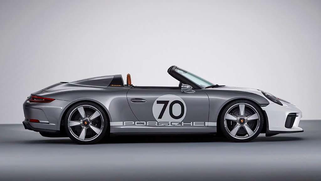 Porsche 911 Speedster Concept. 70 лет компании