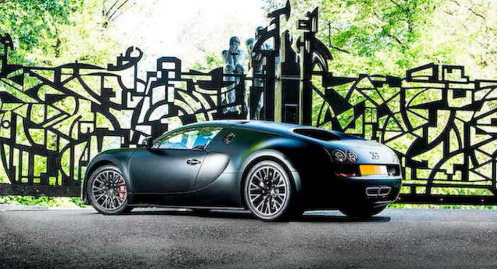 Самый последний Bugatti Veyron Super Sport