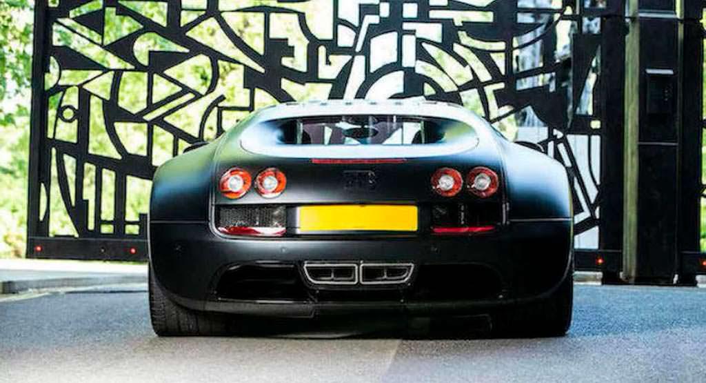 Последний Bugatti Veyron Super Sport. Цена $2 - 3 млн