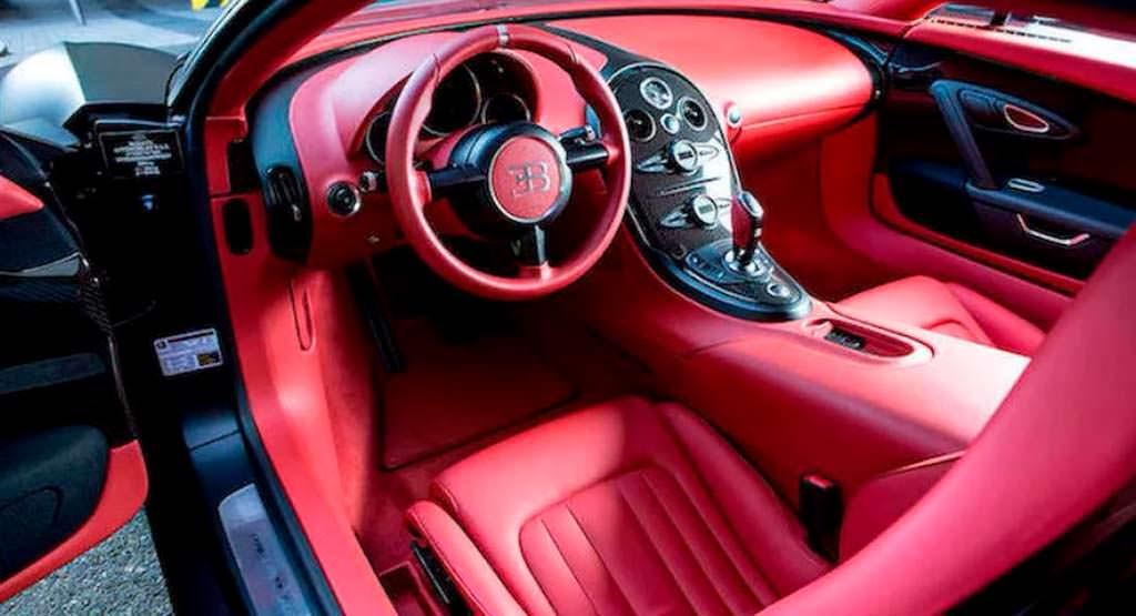 Фото салона Bugatti Veyron Super Sport