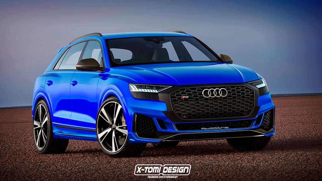 Рендер Audi RS Q8 от X-Tomi Design