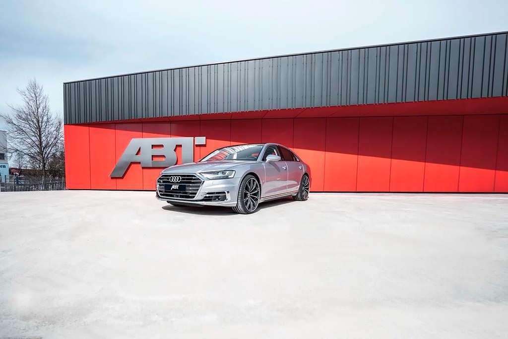 Премиальный седан Audi A8 50 TDI. Тюнинг от ABT Sportsline