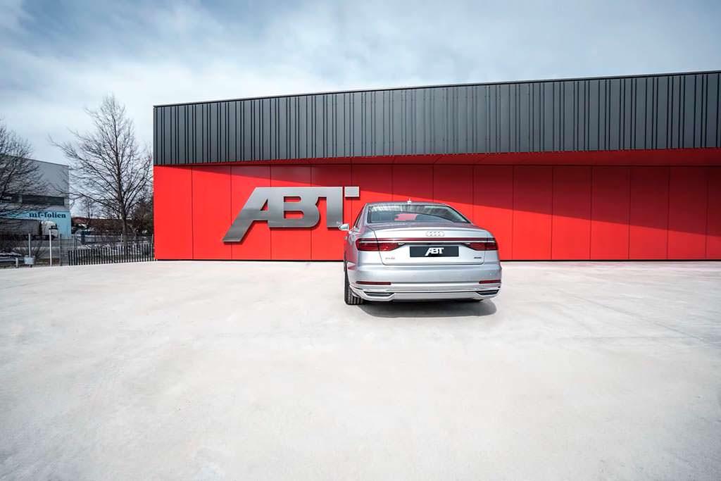 Престижный седан Audi A8 50 TDI. Тюнинг от ABT Sportsline