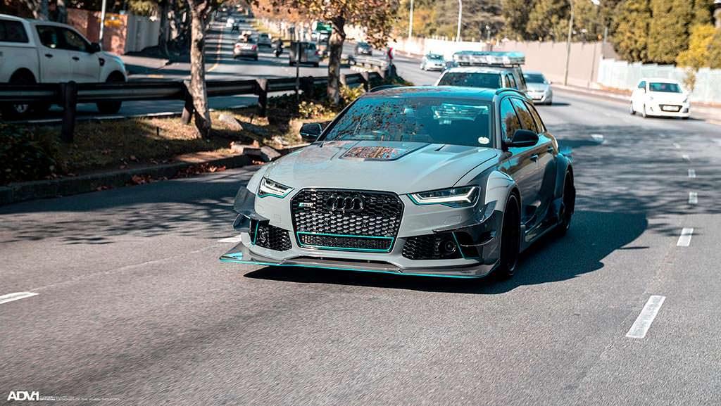 Audi RS6 Avant DarwinPro DMT. Тюнинг Race!