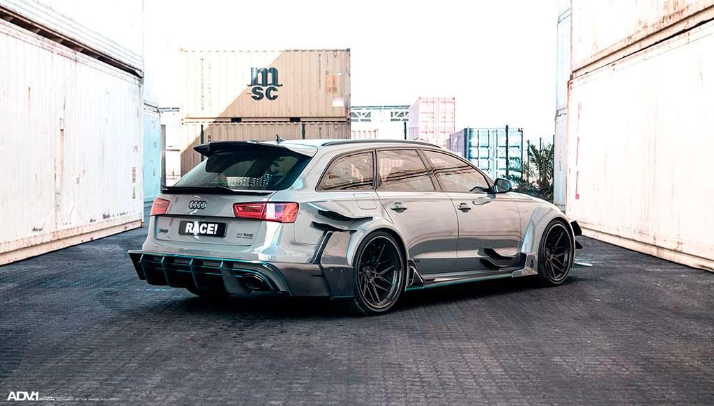 Супер-универсал Audi RS6 Avant DarwinPro DMT в обвесе Race!
