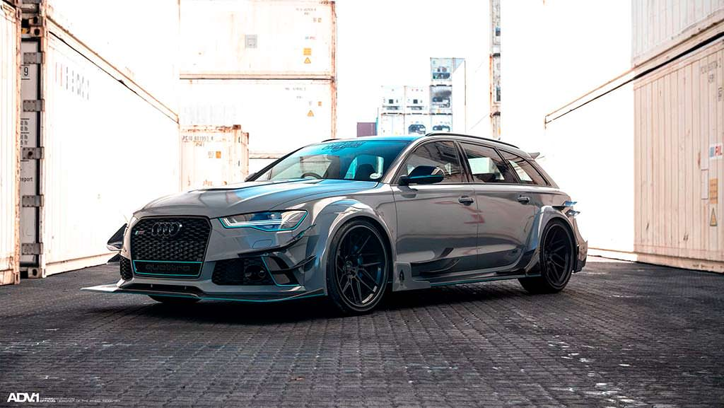 Универсал Audi RS6 Avant DarwinPro DMT в обвесе Race!