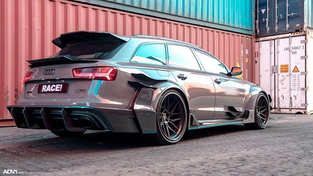 Audi RS6 Avant DarwinPro DMT. Широкий обвес от Race!