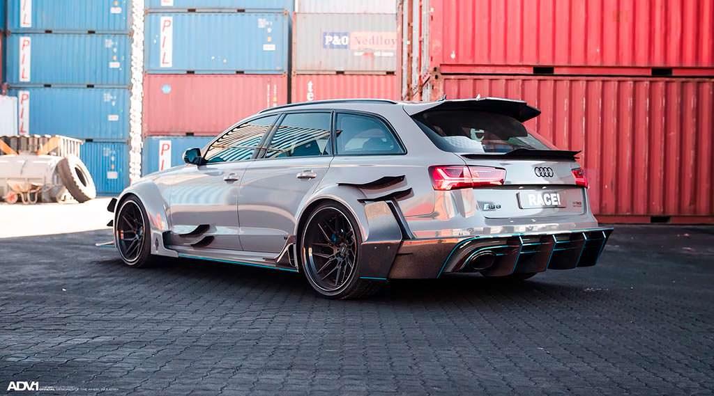 Тюнинг Audi RS6 Avant DarwinPro DMT от Race!
