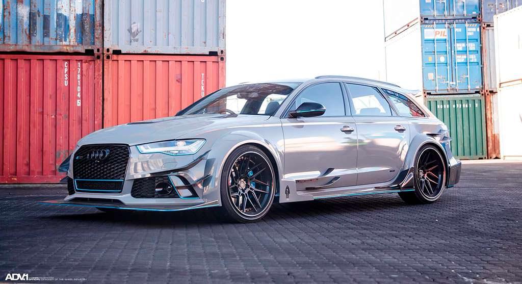 Супер-универсал Audi RS6 Avant DarwinPro DMT. Тюнинг Race!