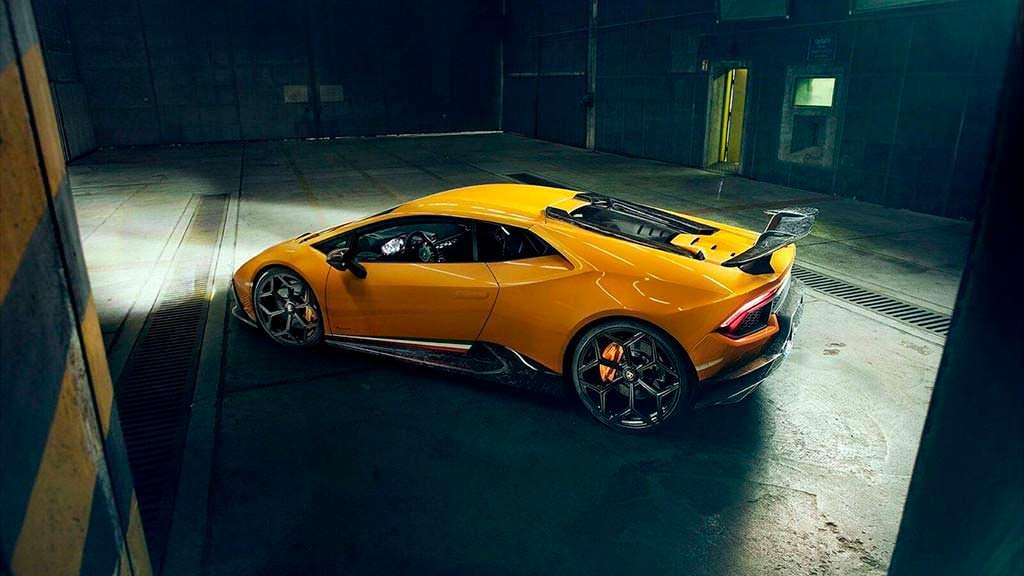 Lamborghini Huracan Performante на дисках NL3 от Novitec