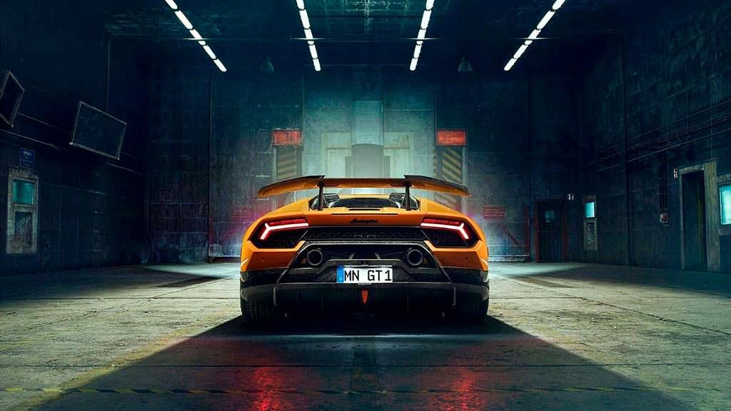 Lamborghini Huracan Performante. Тюнинг Novitec