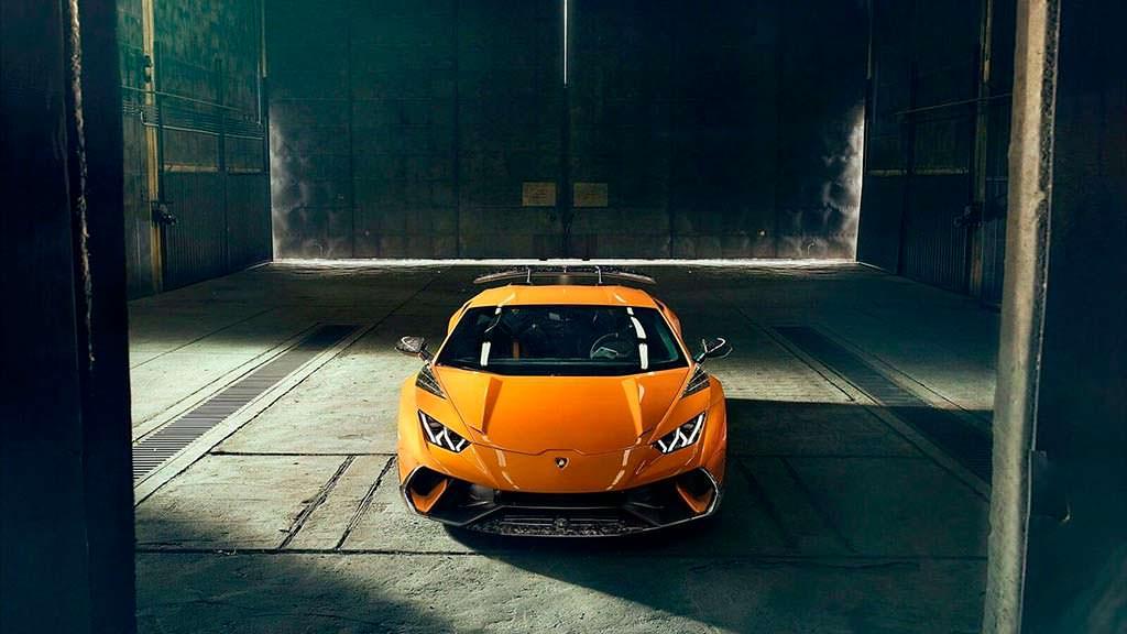 Суперкар Lamborghini Huracan Performante. Тюнинг Novitec